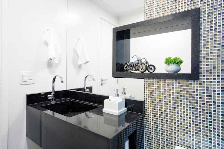 Classic style bathroom by Andressa Saavedra Projetos e Detalhes Classic