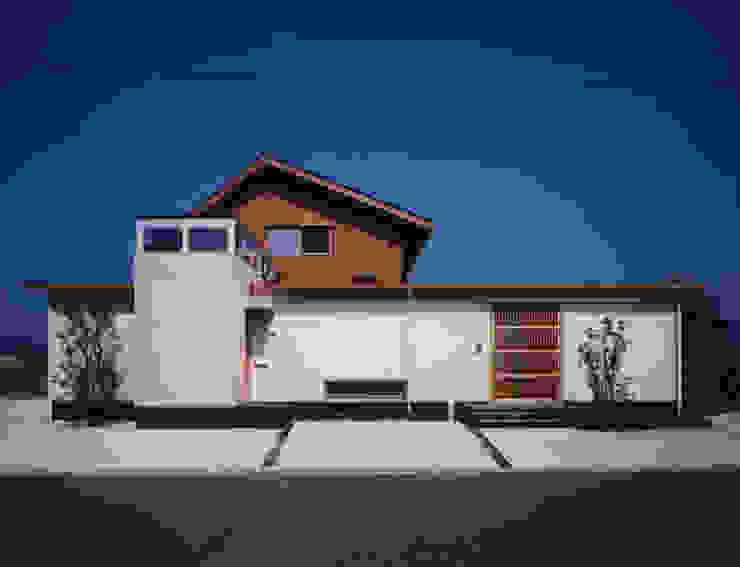 아시아스타일 주택 by AMI ENVIRONMENT DESIGN/アミ環境デザイン 한옥