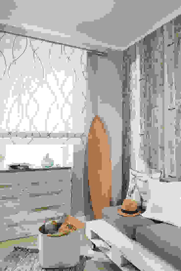 Indes Fuggerhaus Textil GmbH Windows & doors Curtains & drapes Tekstil Blue
