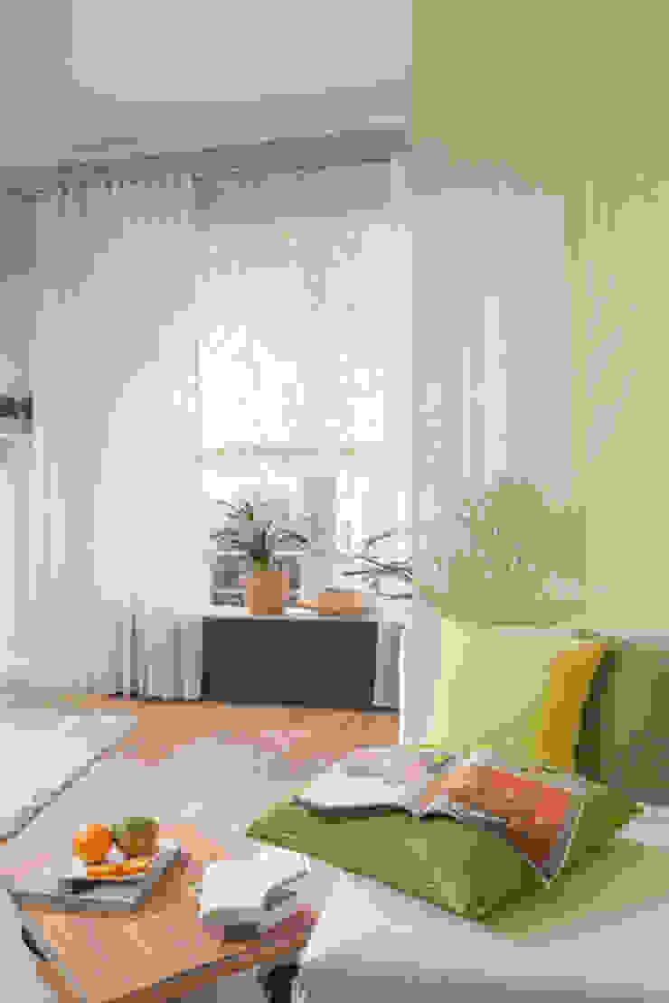 Indes Fuggerhaus Textil GmbH Windows & doors Curtains & drapes Tekstil White