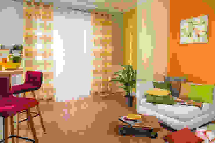 Indes Fuggerhaus Textil GmbH Windows & doors Curtains & drapes Tekstil Yellow