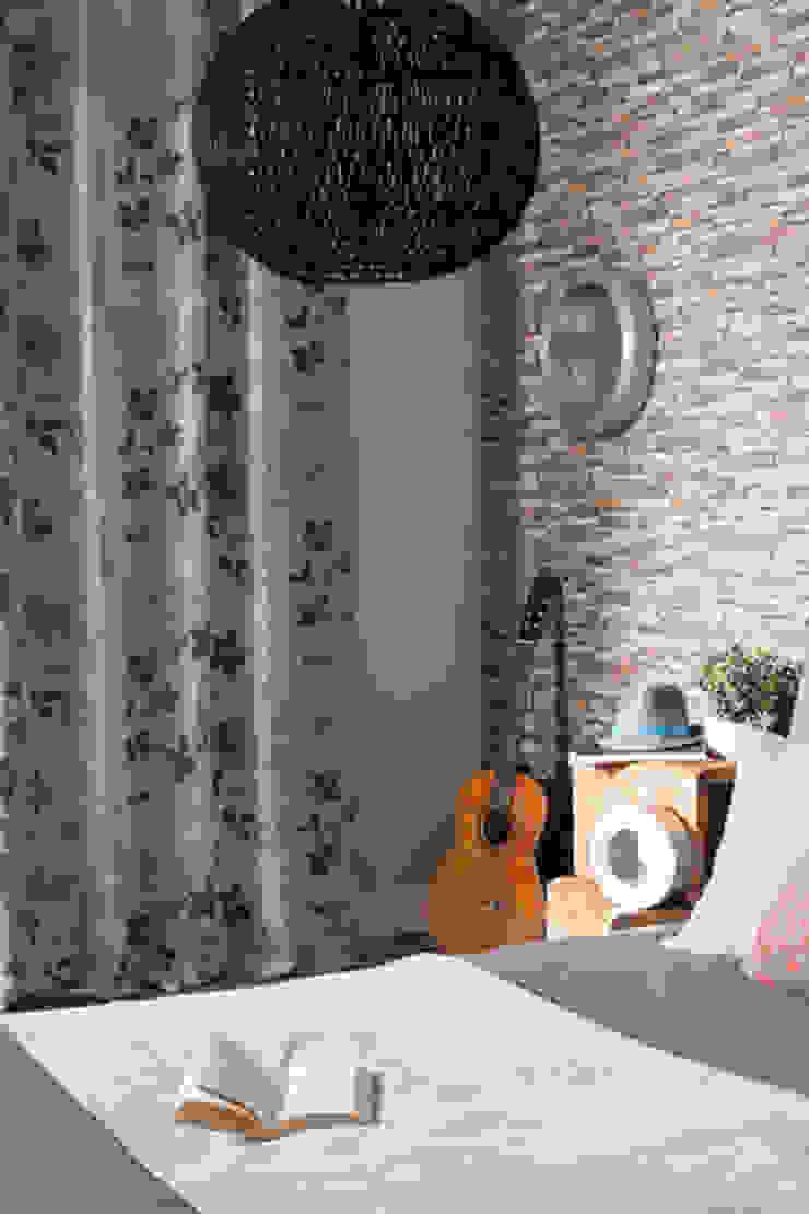 Indes Fuggerhaus Textil GmbH Windows & doors Curtains & drapes Tekstil Grey