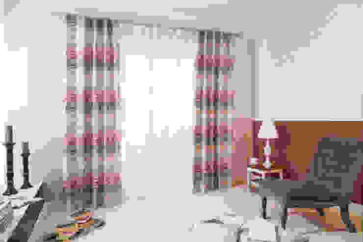 Indes Fuggerhaus Textil GmbH Windows & doors Curtains & drapes Tekstil Red