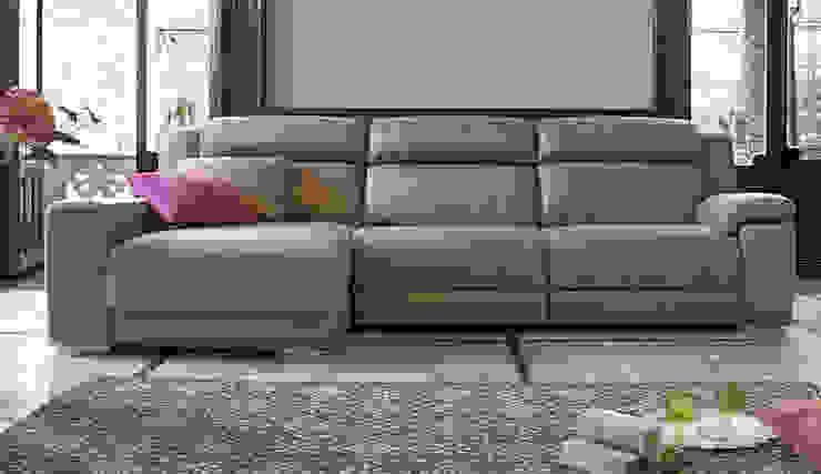 Sofá Blus con Chaise Longue de Muebles caparros Moderno