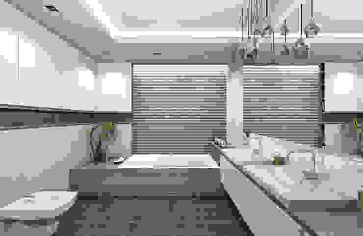 Modern Bathroom by SZTYBLEWICZ ARCHITEKCI Modern