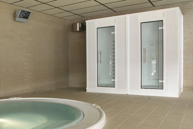 Duchas prefabricadas | Prefabricated showers de INBECA Wellness Equipment Moderno
