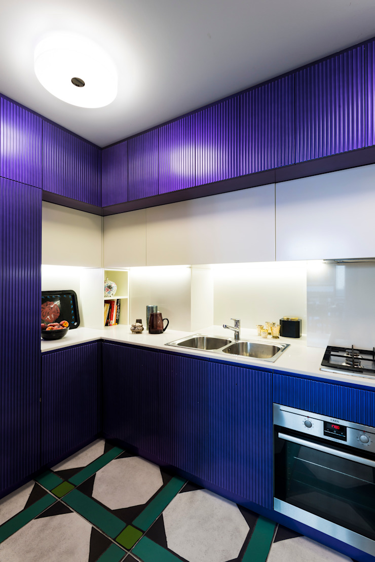 PRIVATE APARTMENT_MNG Cucina eclettica di cristianavannini | arc Eclettico