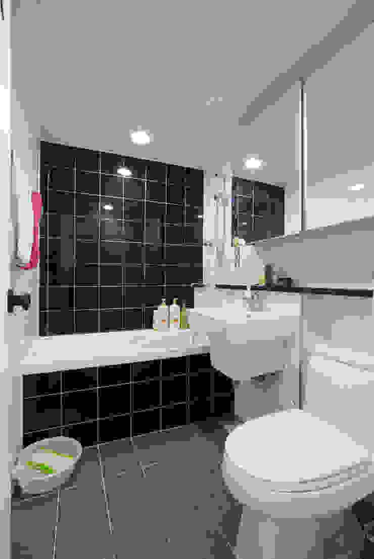 인천 삼산동 산삼타운 21평 스칸디나비아 욕실 by 금화 인테리어 북유럽