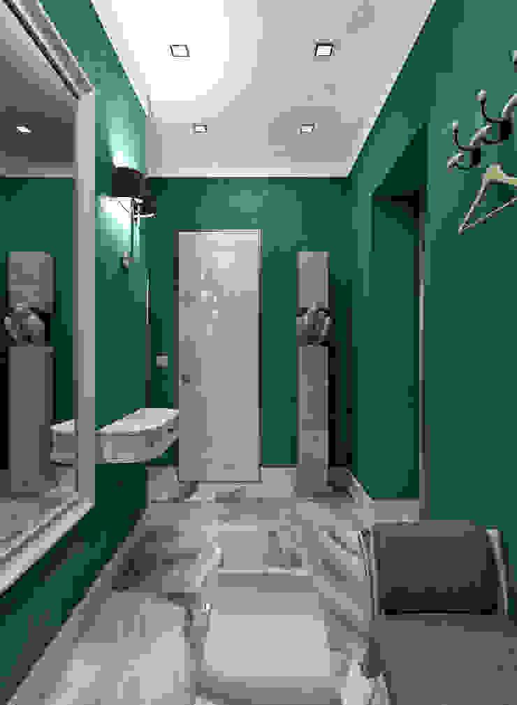 Жилое пространство Коридор, прихожая и лестница в эклектичном стиле от BMM Эклектичный