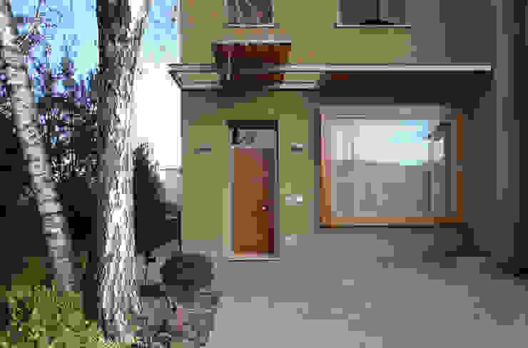 STUDIO DI ARCHITETTURA RAFFIN Moderne Häuser Holz