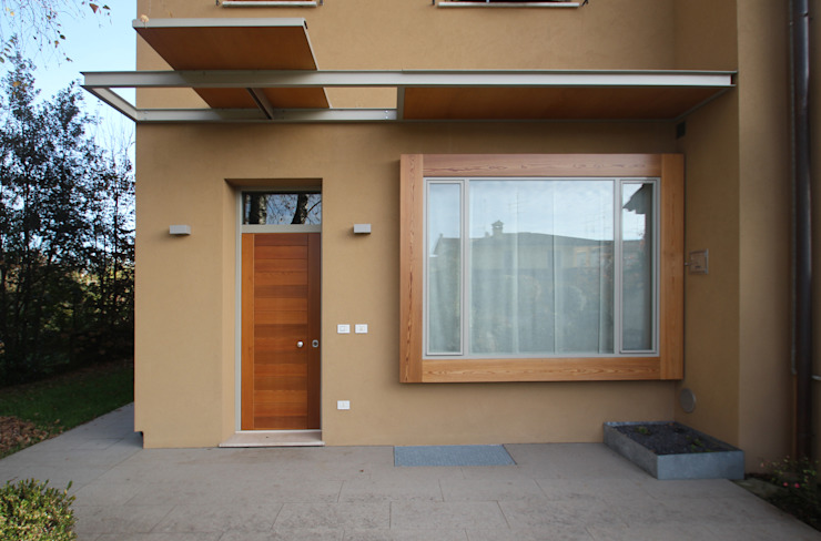 STUDIO DI ARCHITETTURA RAFFIN Modern windows & doors Wood