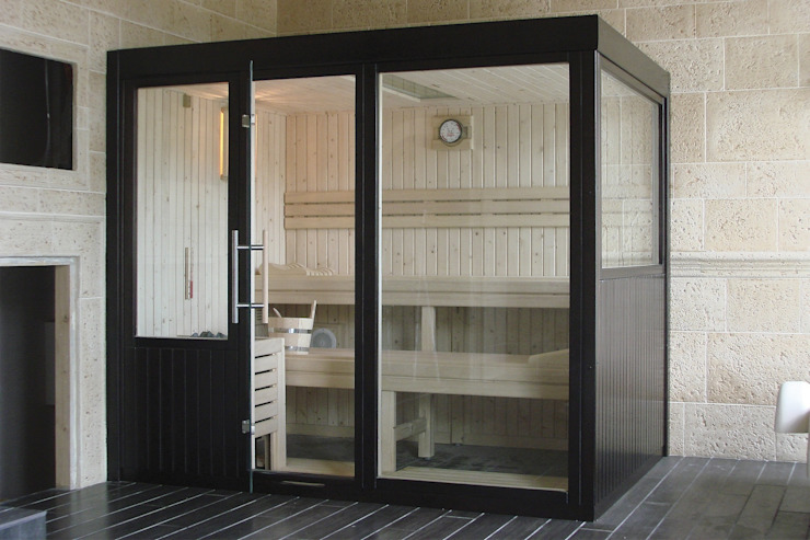Sauna Finlandesa Professional | Finnish Sauna by Inbeca de INBECA Wellness Equipment Moderno