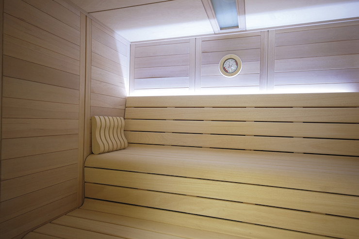 Sauna Finlandesa Barcelona | Finnish Sauna by Inbeca de INBECA Wellness Equipment Moderno