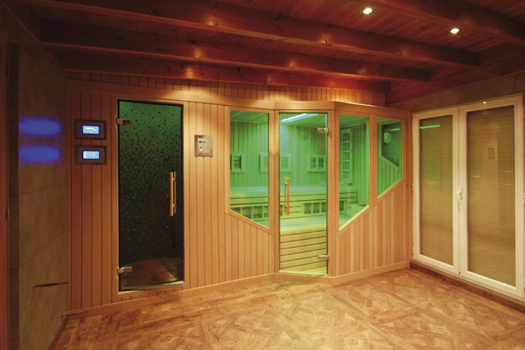 Sauna Finlandesa Infrarojos | Finnish Sauna by Inbeca de INBECA Wellness Equipment Moderno