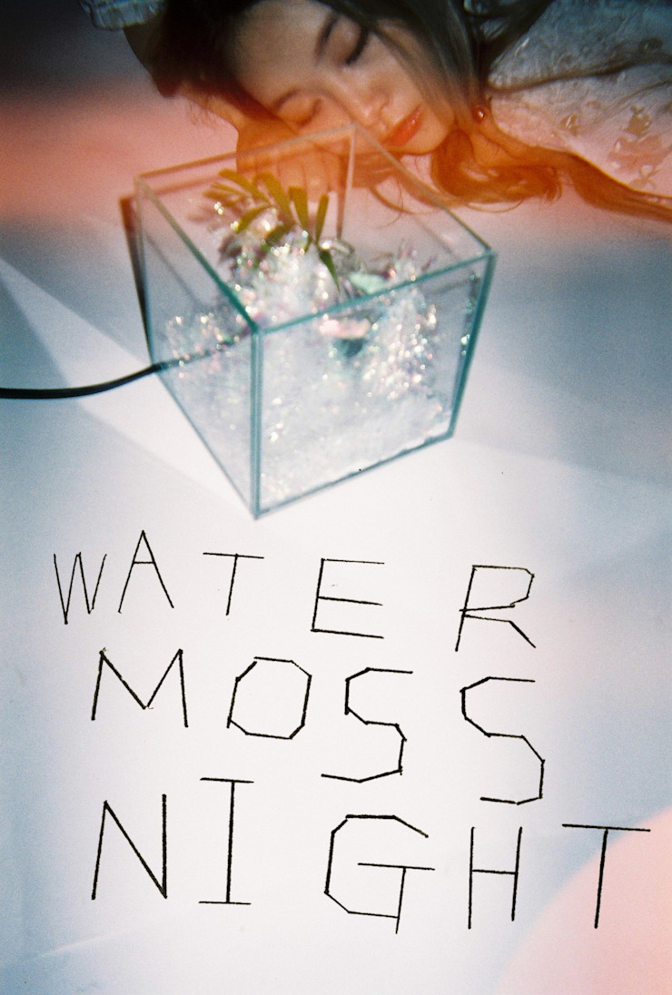 Water Moss Night Photography artwork: 글로리홀 GLORYHOLE LIGHT SALES의 열렬한 ,휴양지