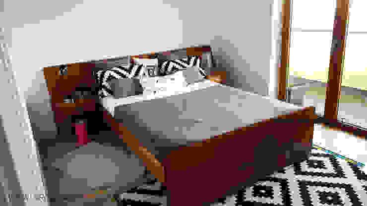 Scandinavian House ARQAMA - Arquitetura e Design Lda Quartos escandinavos