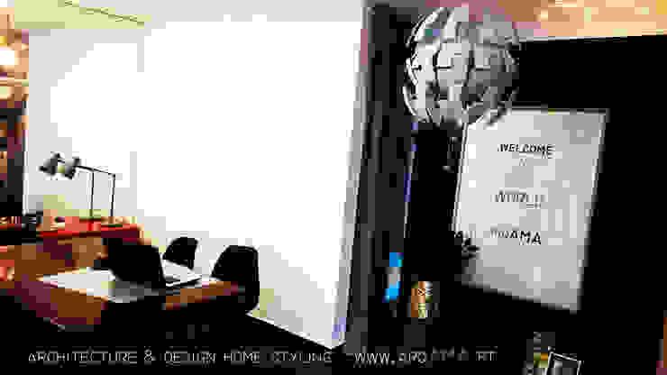 Atelier Arqama por ARQAMA - Arquitetura e Design Lda Escandinavo