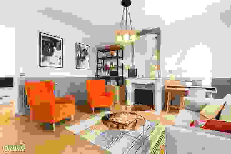 Salas de estar modernas por Carnets Libellule Moderno