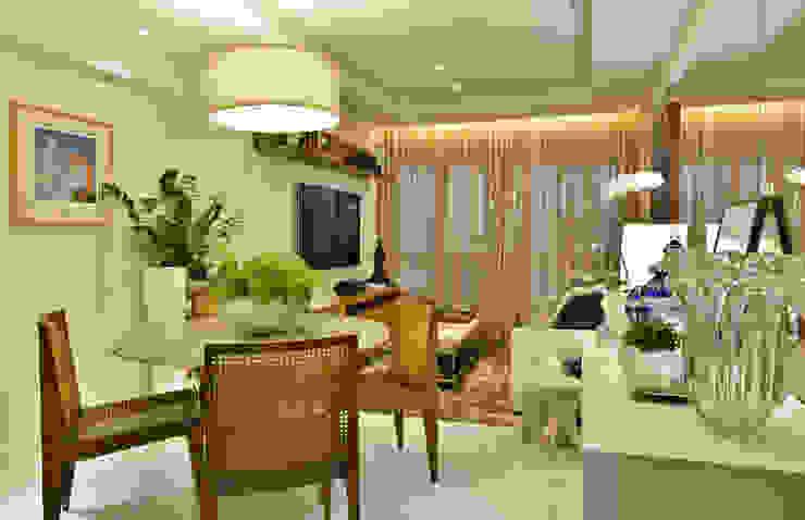 Apartamento FL Salas de estar modernas por Bastos & Duarte Moderno