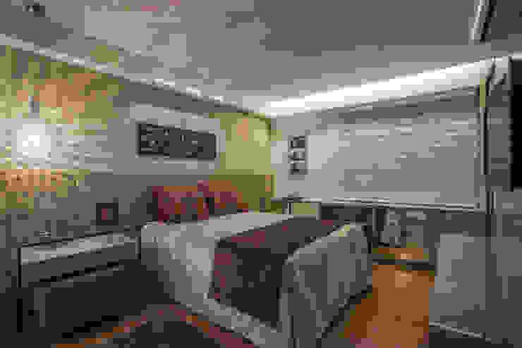 Projeto Apartamento Luxemburgo Quartos modernos por Laura Santos Design Moderno
