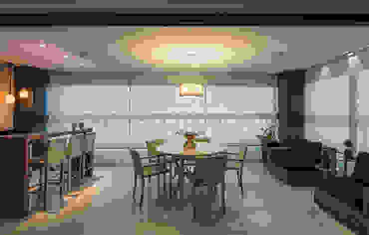 Projeto Apartamento Luxemburgo Varandas, alpendres e terraços modernos por Laura Santos Design Moderno
