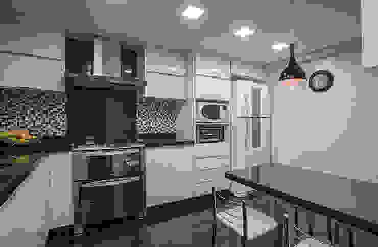 Projeto Apartamento Luxemburgo Cozinhas modernas por Laura Santos Design Moderno
