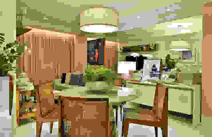 Apartamento FL Salas de jantar modernas por Bastos & Duarte Moderno