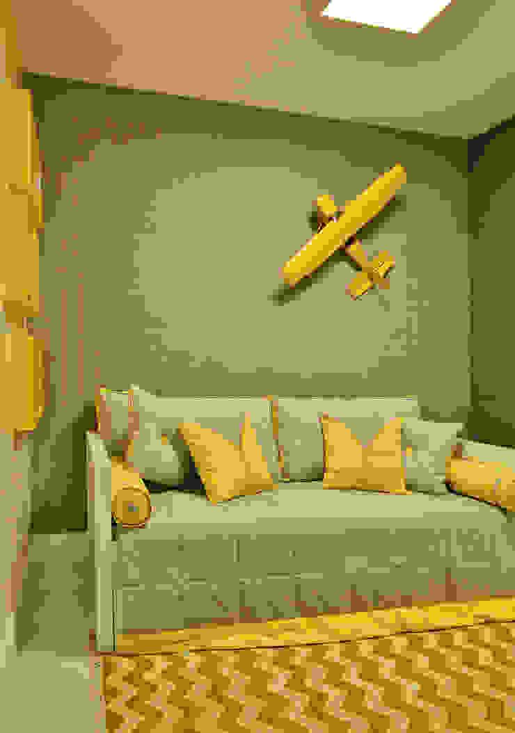Apartamento FL Quarto infantil moderno por Bastos & Duarte Moderno
