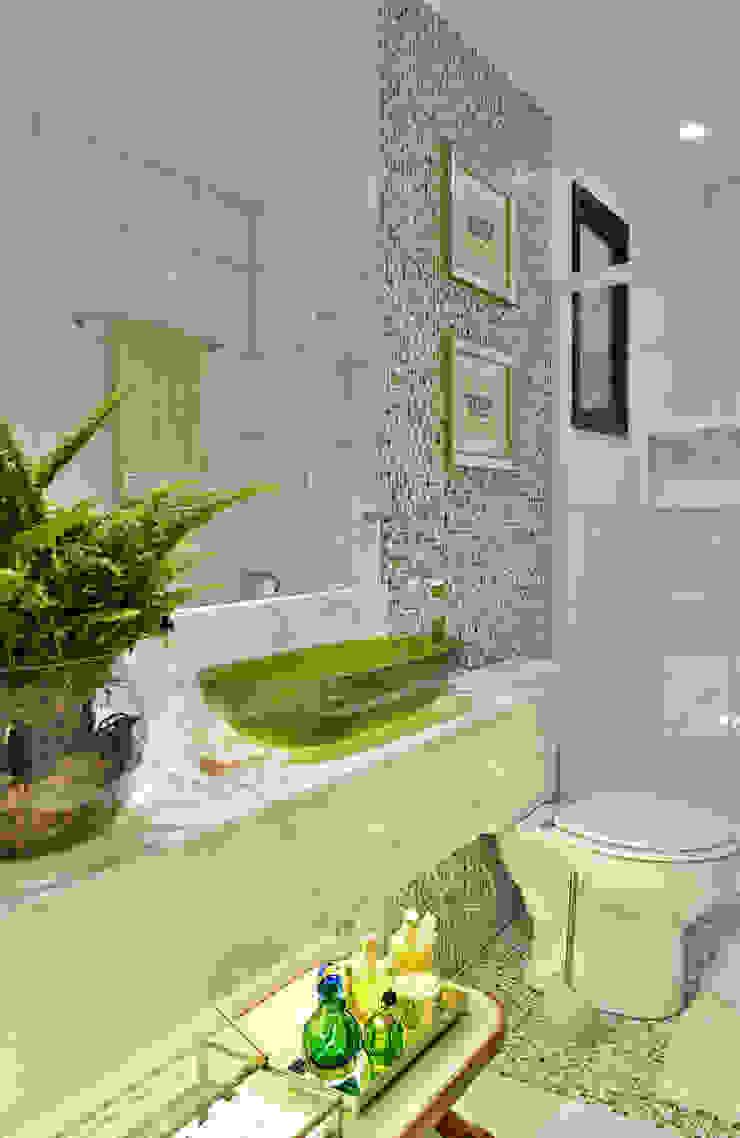 Apartamento FL Banheiros modernos por Bastos & Duarte Moderno