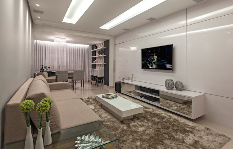 Laura Santos Design Salas de estilo moderno