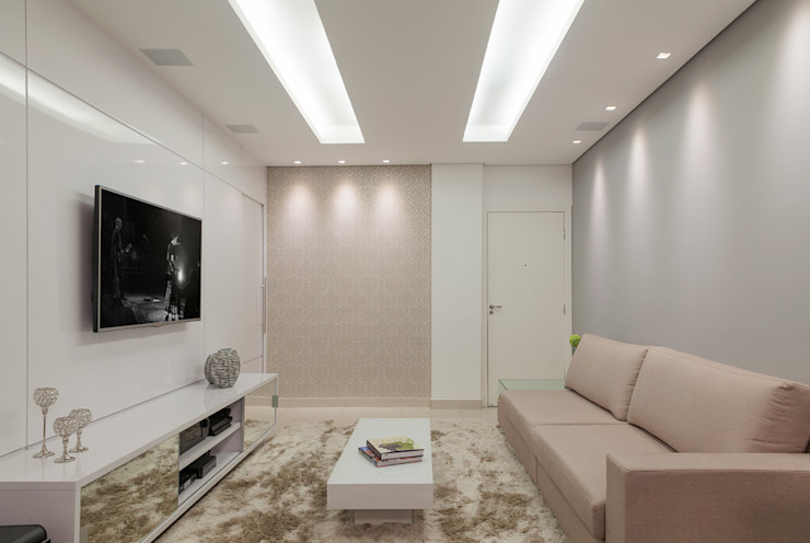 Salas modernas de Laura Santos Design Moderno