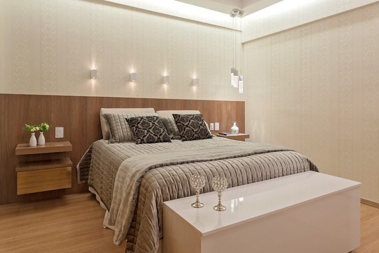 Modern style bedroom by Laura Santos Design Modern
