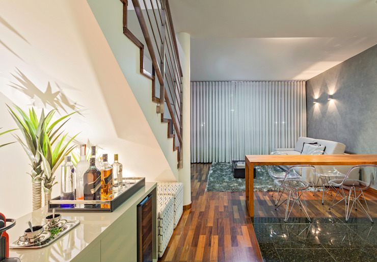 Loft Duplex Laura Santos Design Salas de estar modernas