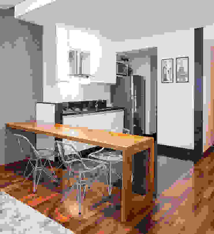 Loft Duplex Laura Santos Design Cozinhas modernas