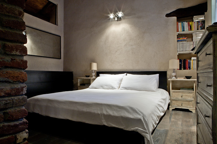 Rustic style bedroom by Fabio Carria Rustic