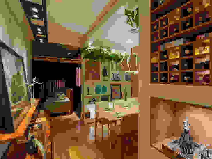 Bodegas de vino de estilo moderno de Laura Santos Design Moderno