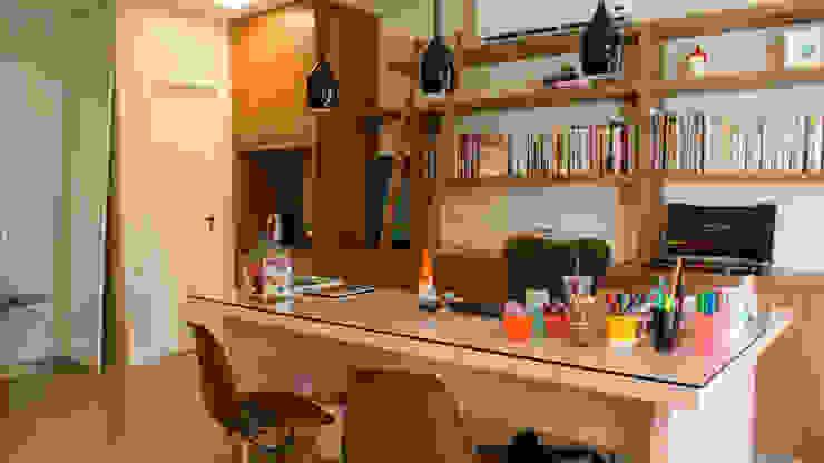 Modern study/office by MEM Arquitetura Modern
