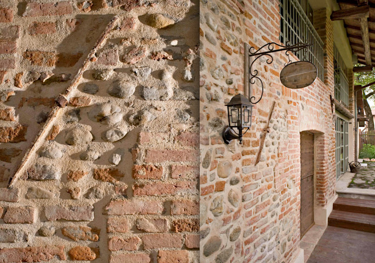 Rustic style house by Fabio Carria Rustic