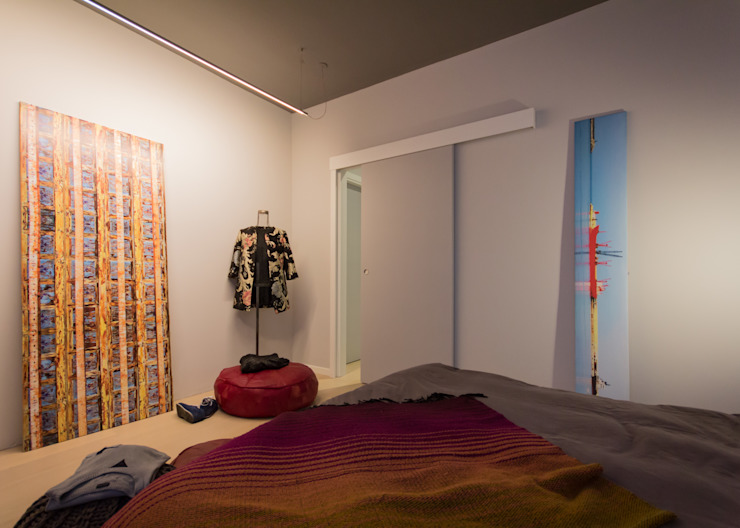 Modern style bedroom by davide pavanello _ spazi forme segni visioni Modern