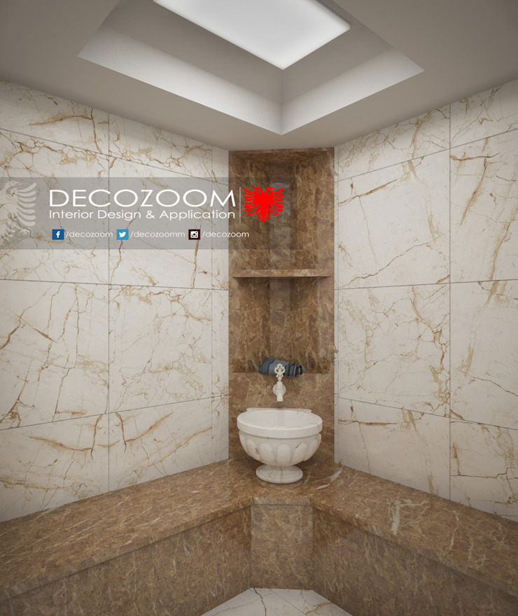 Bath DECOZOOM INTERIOR DESIGN Kırsal/Country