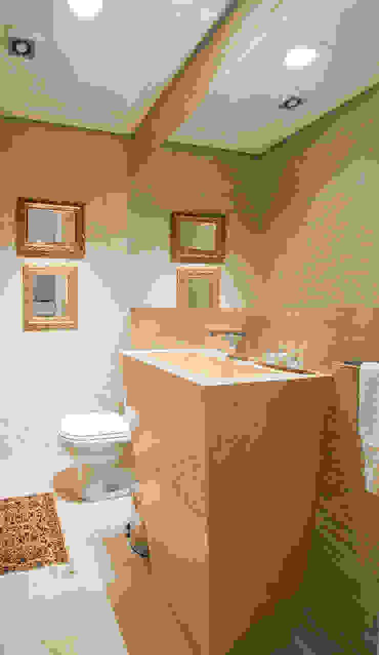 APARTAMENTO – CAXIAS DO SUL Banheiros modernos por Manoela Arquiteta Moderno