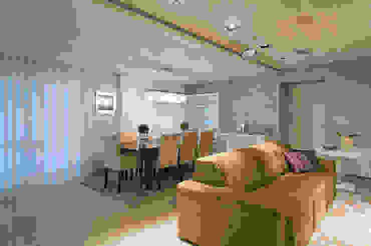 APARTAMENTO – CAXIAS DO SUL Salas de estar modernas por Manoela Arquiteta Moderno