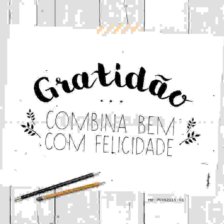 ★ poster ★ gratidão ★ por Digo Escandinavo Papel