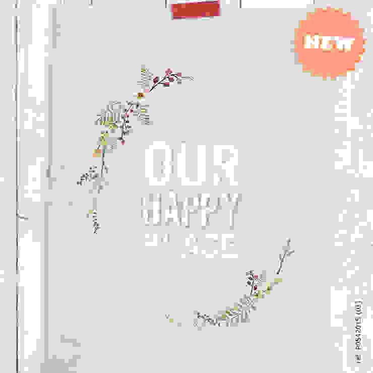 ★ poster ★ our happy place ★ por Digo Campestre Papel