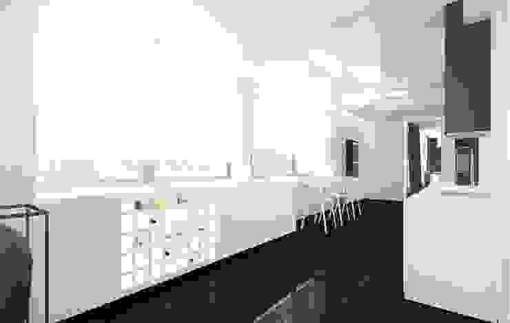 Cuisine minimaliste par KONZEPT Architekci Minimaliste Pierre