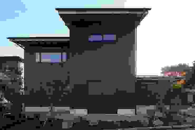小谷の家 オリジナルな 家 の 早田雄次郎建築設計事務所/Yujiro Hayata Architect & Associates オリジナル 鉄/鋼
