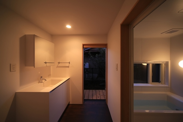 小谷の家 オリジナルスタイルの お風呂 の 早田雄次郎建築設計事務所/Yujiro Hayata Architect & Associates オリジナル