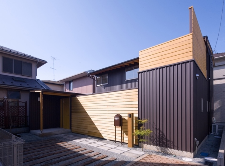 外観 オリジナルな 家 の 早田雄次郎建築設計事務所/Yujiro Hayata Architect & Associates オリジナル 鉄/鋼