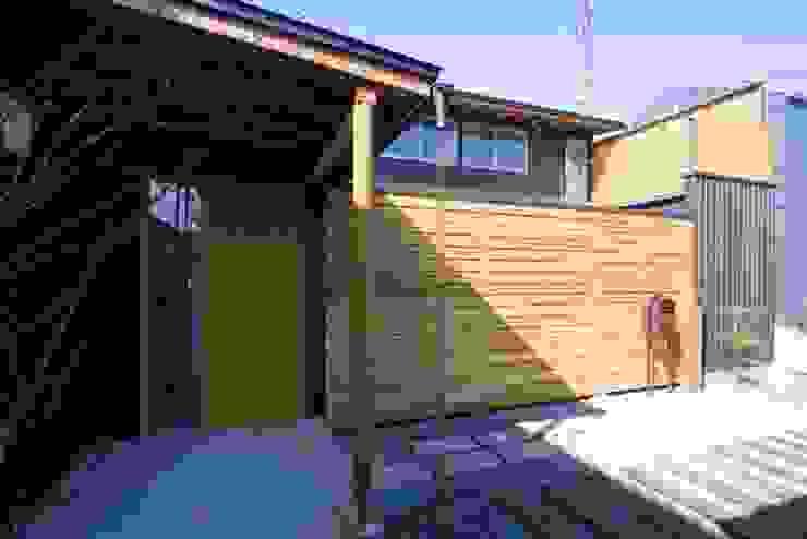 外観 オリジナルな 家 の 早田雄次郎建築設計事務所/Yujiro Hayata Architect & Associates オリジナル 木 木目調