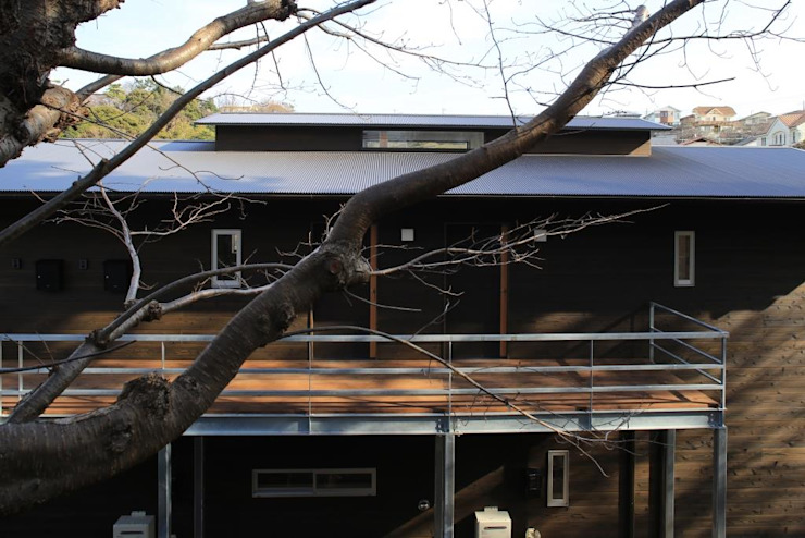 Eclectic style houses by 早田雄次郎建築設計事務所/Yujiro Hayata Architect & Associates Eclectic Wood Wood effect